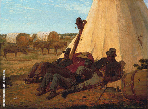 The Bright Side 1865 by Winslow Homer   Oil Painting Reproduction Replica On Canvas - Reproduction Gallery