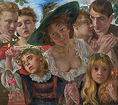 Joy of Life 1898 By Lovis Corinth