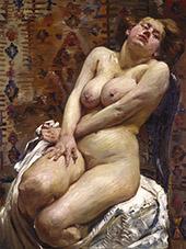 Nana Female Nude 1911 By Lovis Corinth