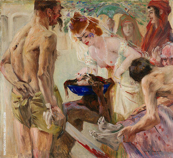 Salomec 1900 Painting By Lovis Corinth - Reproduction Gallery