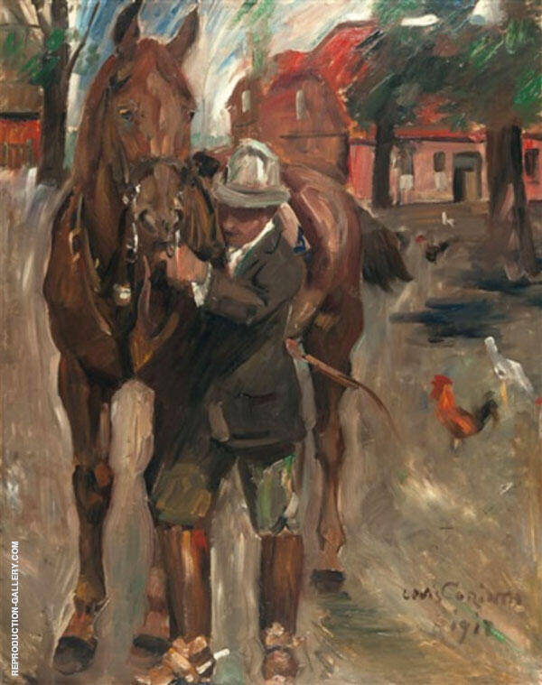 Setting out for a Ride 1913 Painting By Lovis Corinth