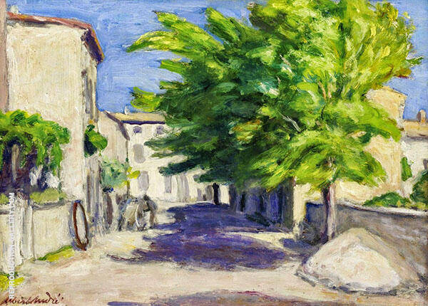 Village Street In Provence 1893 By Albert Andre