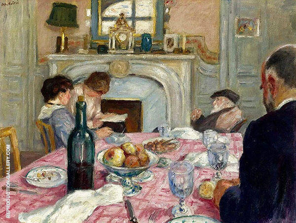 Afternoon with Renoir c1917 By Albert Andre