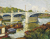 Bridge on The Seine Paris By Albert Andre