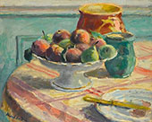 Compote of Peaches and Pears By Albert Andre