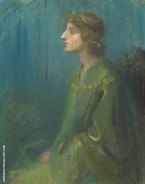 Isolde Painting By Clara Weaver Parrish - Reproduction Gallery