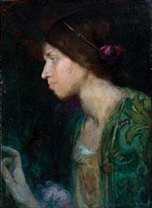 Portrait of a Woman By Clara Weaver Parrish
