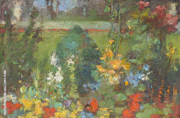 The Flower Garden Painting By Clara Weaver Parrish - Reproduction Gallery