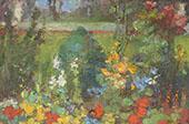 The Flower Garden By Clara Weaver Parrish