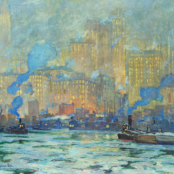 Oil Painting Reproductions of Jonas Lie