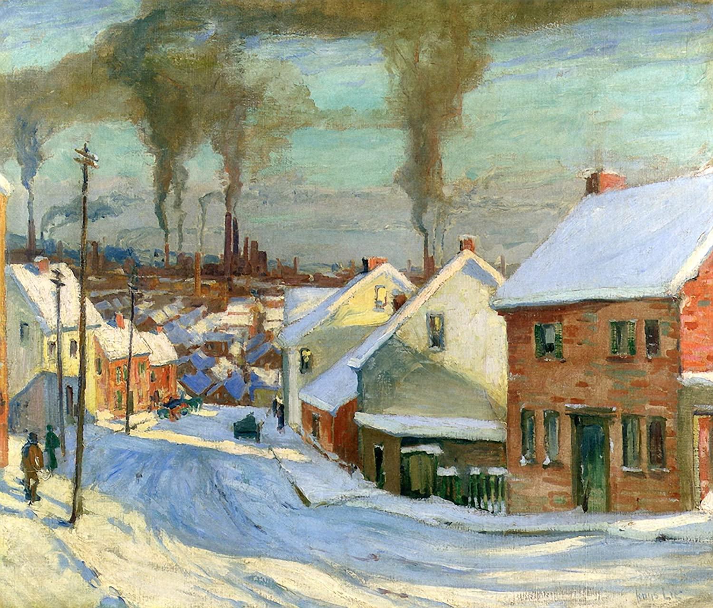 American Factory Town By Jonas Lie