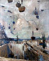 Heavenly Host 1913 By Jonas Lie