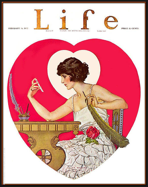 Oil Painting Reproductions of Coles Phillips