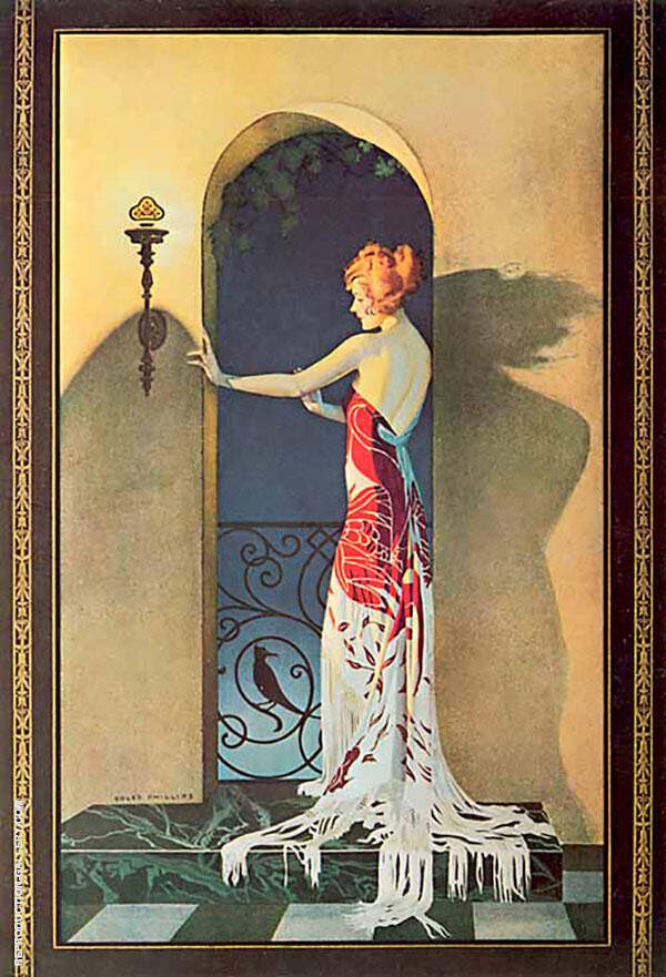 Edison Mazda 1925 Painting By Coles Phillips - Reproduction Gallery