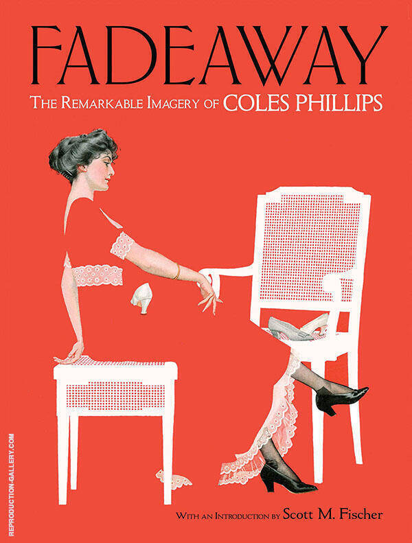 Fadeaway Painting By Coles Phillips - Reproduction Gallery