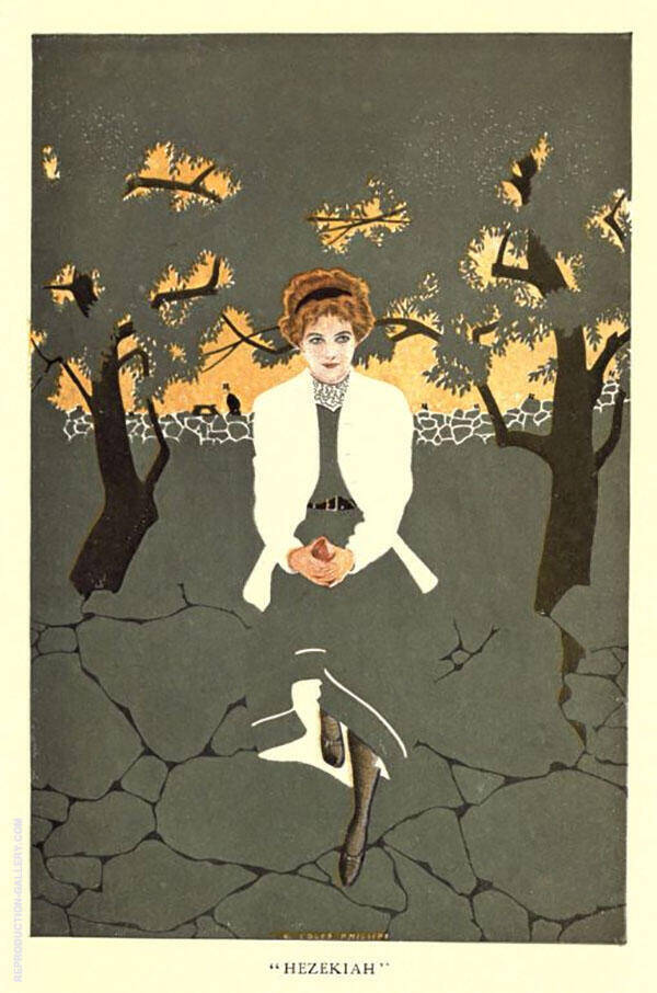 Hezekiah Painting By Coles Phillips - Reproduction Gallery