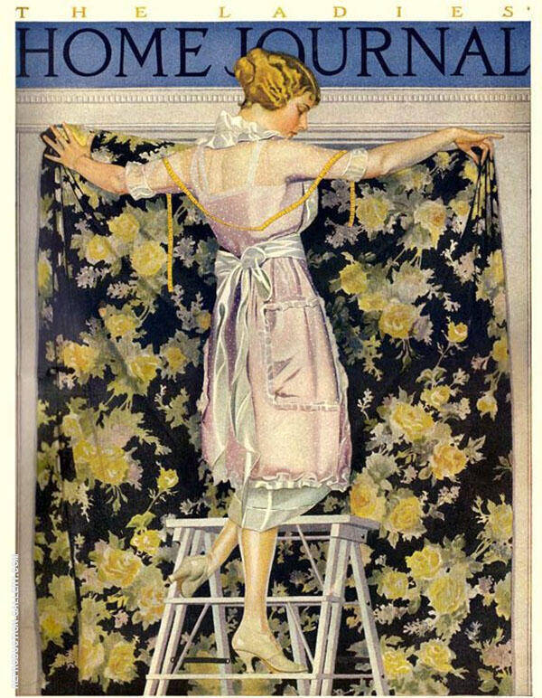 Ladies Home Journal 1921 II By Coles Phillips