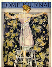 Ladies Home Journal 1921 II By Coles Phillips