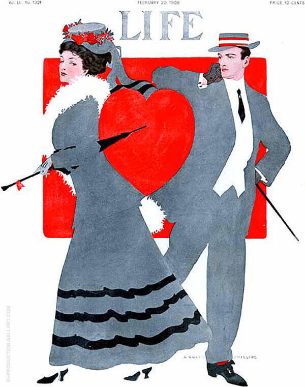 Life 1908 II Painting By Coles Phillips - Reproduction Gallery
