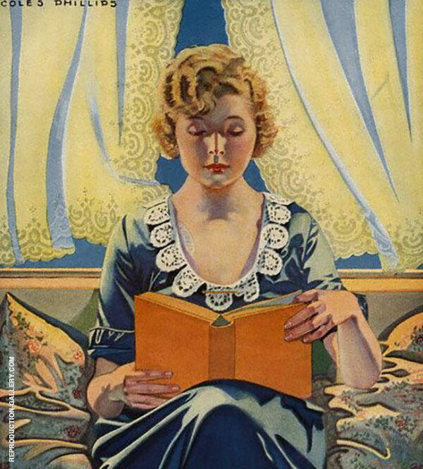 May Time is Curtain Time Painting By Coles Phillips - Reproduction Gallery