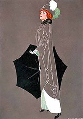 Print Based on Good Housekeeping Cover 1913 By Coles Phillips