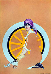 Print Based on Good Housekeeping Cover 1913 III By Coles Phillips