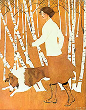 Print Based on Life Cover 1911 By Coles Phillips