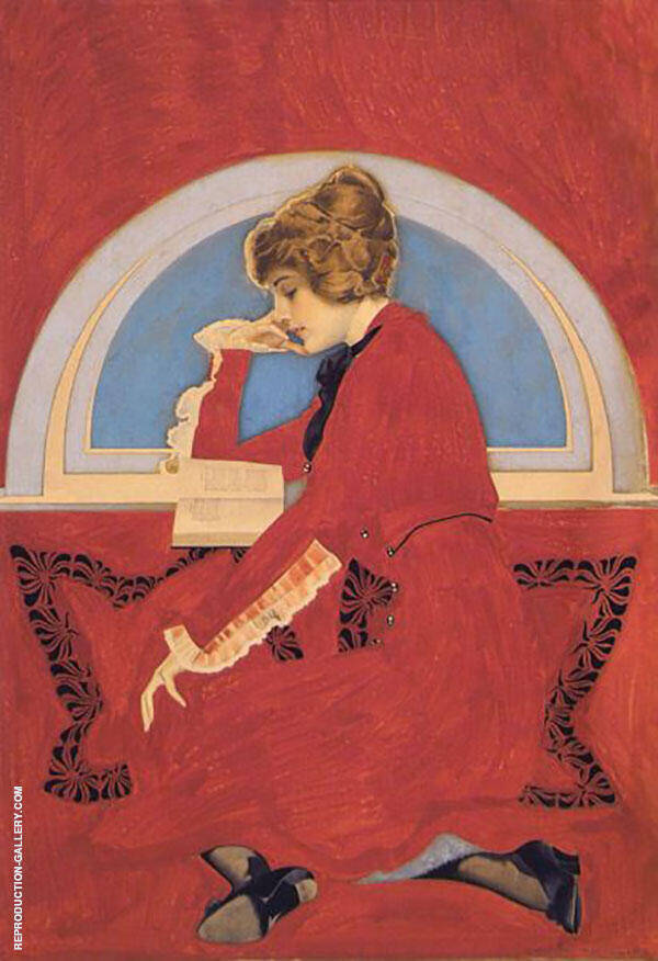 Romance Painting By Coles Phillips - Reproduction Gallery