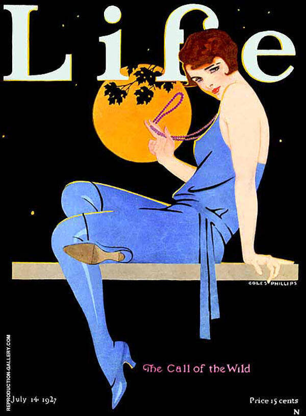 The Call of The Wild 1927 Painting By Coles Phillips