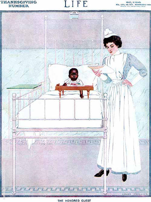 The Honored Guest 1911 By Coles Phillips