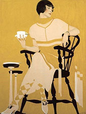 The Magic Hour also known as Afternoon Tea By Coles Phillips