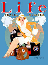 Travel Number 1927 By Coles Phillips