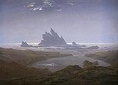 Rocky Reef on Seashore c1925 By Caspar David Friedrich
