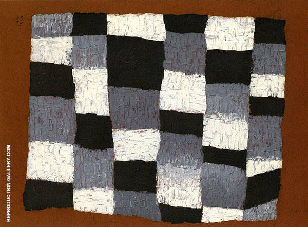 Rhythmical Elements 1930 by Paul Klee | Oil Painting Reproduction Replica On Canvas - Reproduction Gallery