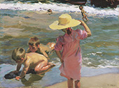 The Young Amphibians 1902 By Joaquin Sorolla