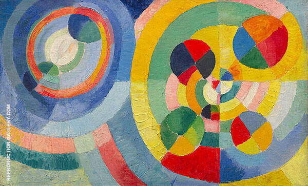 Circular Forms 1930 Painting By Robert Delaunay - Reproduction Gallery