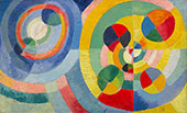 Circular Forms 1930 By Robert Delaunay