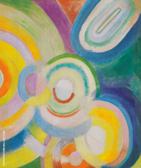 Colored Discs 1913 Painting By Robert Delaunay - Reproduction Gallery