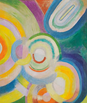 Colored Discs 1913 By Robert Delaunay