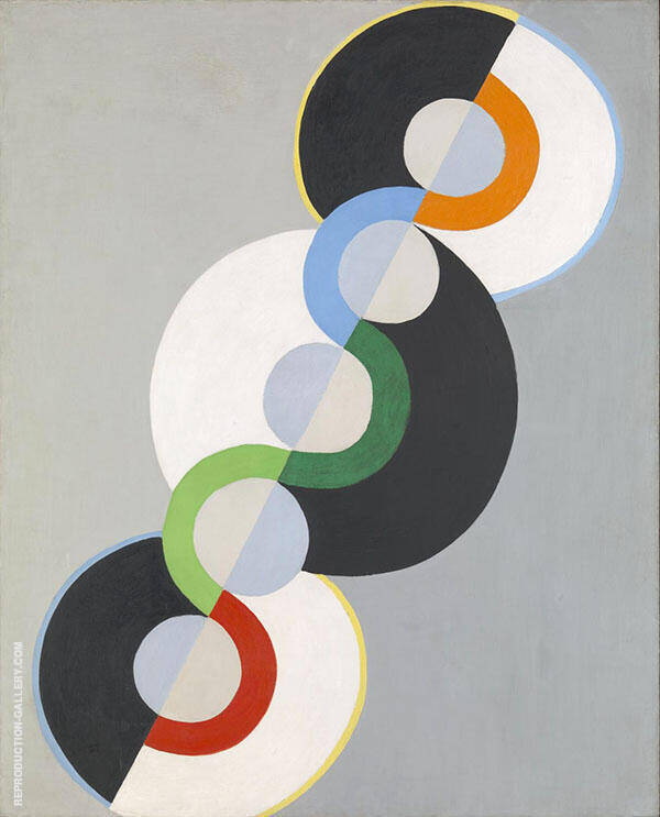 Endless Rhythm Painting By Robert Delaunay - Reproduction Gallery