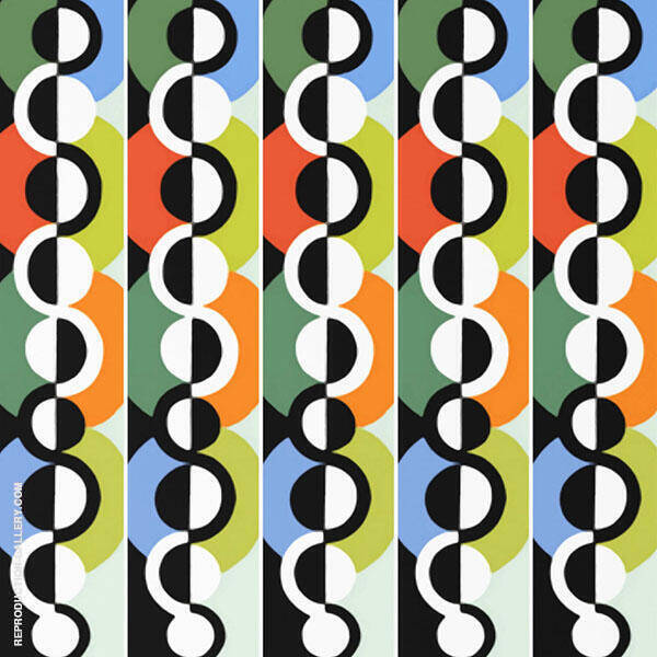 Endless Rhythm 1934 Painting By Robert Delaunay - Reproduction Gallery
