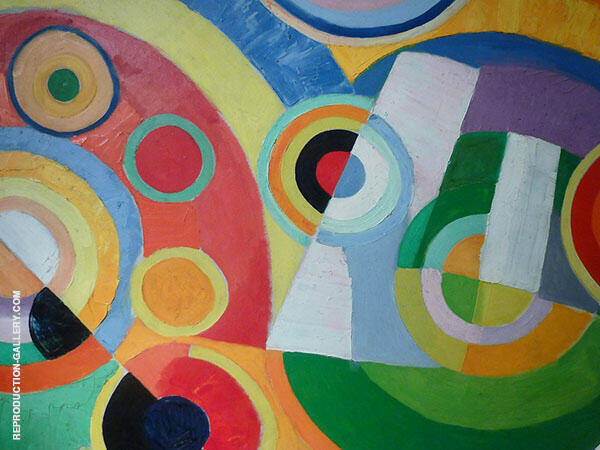 Joy of Living By Robert Delaunay