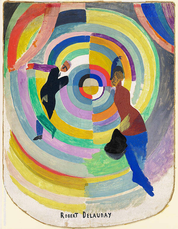 Political Drama 1971 Painting By Robert Delaunay - Reproduction Gallery