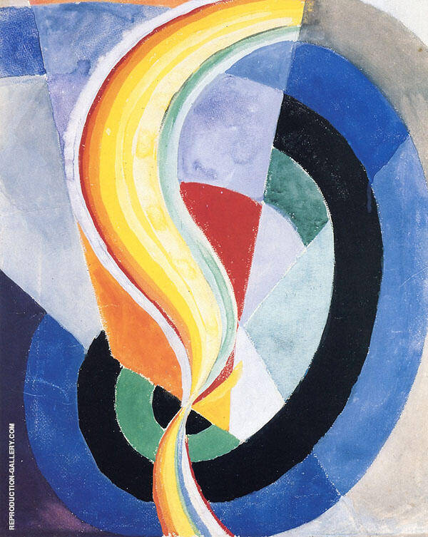 Propeller 1923 Painting By Robert Delaunay - Reproduction Gallery