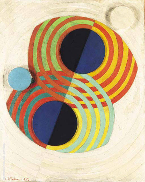 Relief Rhythms 1932 Painting By Robert Delaunay - Reproduction Gallery