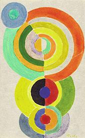 Rhythm 1934 I By Robert Delaunay