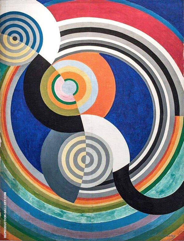 Rhythm No 2 Painting By Robert Delaunay - Reproduction Gallery