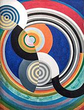 Rhythm No 2 By Robert Delaunay