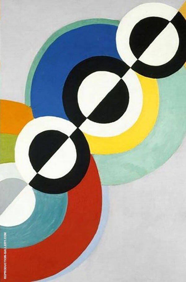 Rhythm No 2 1934 Painting By Robert Delaunay - Reproduction Gallery