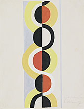 Rhythm Without End 1935 By Robert Delaunay